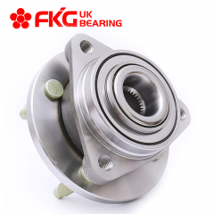 FKG 513205 (4 Lugs Non ABS Models) Front Wheel Bearing Hub Assembly fit for 2003-2007 Saturn ION, 2005-2006 Pontiac Pursuit, 2007-2009 Pontiac G5, 2005-2009 Chevy Cobalt 4 Lugs