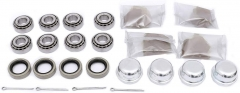 FKG Trailer Bearing Kit for 3/4 Inch Straight Spindle, Set of 4
