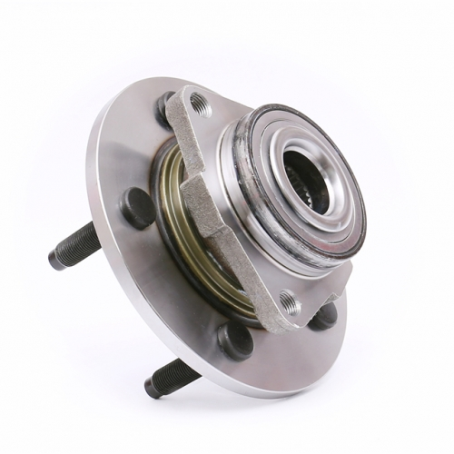 FKG 515072 Front Wheel Bearing Wheel Hub Assembly fit for 2002-2008 Dodge RAM 1500 2WD or 4WD, 5 Lugs set of 2