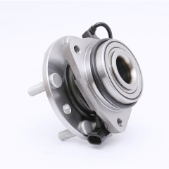 FKG 513124 Front Wheel Bearing Hub Assembly For 97-05 Chevy Blazer 4WD, 97-04 Chevy S10 4WD, 97-05 GMC Jimmy 4WD, 97-04 GMC Sonoma 4WD, 98-00 Isuzu Ho