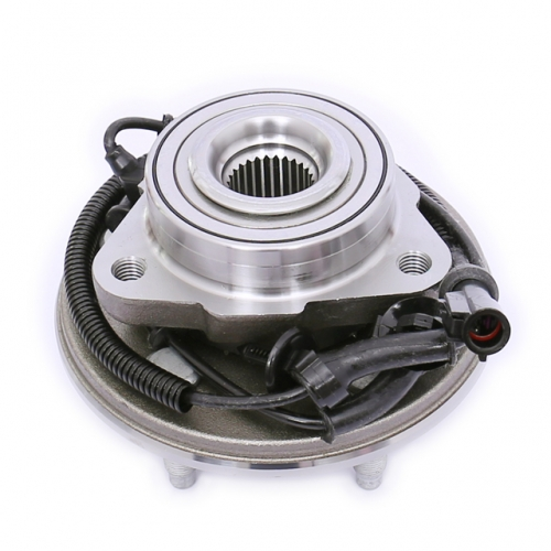 FKG 515050 Front Wheel Bearing Hub Assembly For 2002-2005 Ford Explorer (Excludes 2 Door Sport); 2003-2005 Lincoln Aviator (RWD, 4WD); 2002-2005 Mercury Mountaineer (4WD, RWD), Set of 2